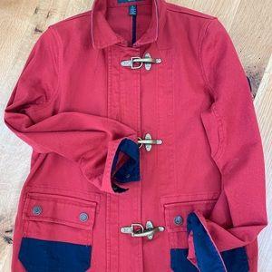 Lauren Canvas nautical jacket Petite large